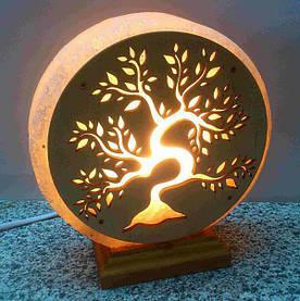 Соляная лампа Золотое дерево