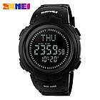 Cпортивные часы Skmei (Скмей) 1231 Black с компасом, фото 2