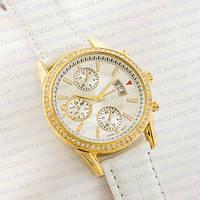 Наручные часы Guardo gold white 1387G-8735