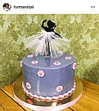 Топпер балеринка танцующая , Украшения на торт ОПТ/Розница, фото 3