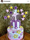 Топпер балеринка танцующая , Украшения на торт ОПТ/Розница, фото 2