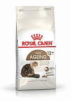 Корм Royal Canin Ageing +12 супер премиум класса, для кошек старше 12 лет, 0,4кг