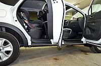 """Накладки на внутренние пороги дверей """"КАРТ"""" для Renault Kaptur, фото 1"""