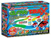 Гибкий трек Speedway Glow Trax (светится в темноте), PMS