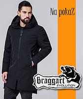 """Куртка мужская демисезонная Braggart """"Evolution"""" черная, р. 52-62"""