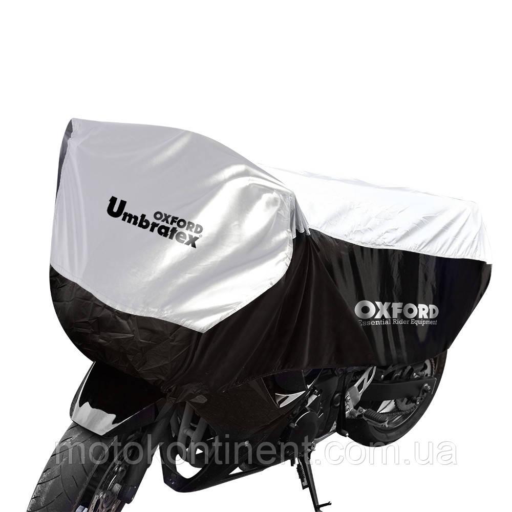 Моточехол OXFORD UMBRATEX BLACK-SILVER  Размер моточехла оксфорд  : 167 х 105 х 47 см ( M ) CV106