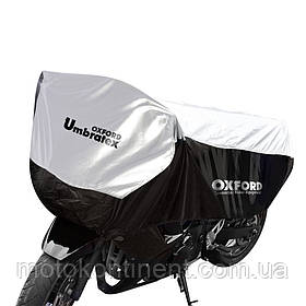 CV107 Моточехол OXFORD UMBRATEX BLACK-SILVER  Размер моточехла оксфорд  : 195 х 106 х 50 см ( L )