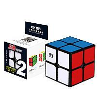 Кубик Рубика 2x2 QiYi QiDi, цветные наклейки