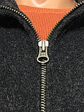 Пальто куртка на молнии шерстяное Gap (XL, 54-56), фото 4