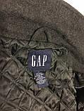 Пальто куртка на молнии шерстяное Gap (XL, 54-56), фото 10