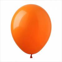 """Шар 5"""" (12,5 см), оранжевые, пастель, 100 шт"""