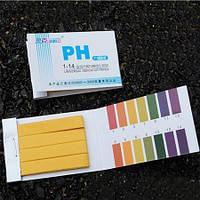 ELLADA.BIZ. 30грн. Лакмусовая бумага, PH-тест, Ph-метр, Ph-измеритель . Индикатора бумага 2019г
