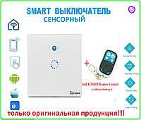 Sonoff Беспроводной WiFi  Smart Home выключатель настенный сенсорный + пульт, фото 1