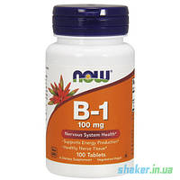 NOW Vitamin B-1 100 mg (100 таб) тиамин нау витамин б1