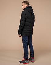Подросток 13-17 лет |  Куртка зимняя Braggart Teenager 25480 черная, фото 3