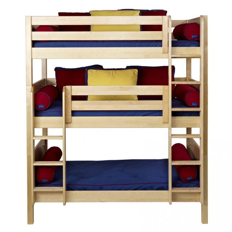 """Триярусна дерев'яна ліжко """"Лозанна"""" від виробника"""