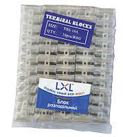 Блок распределительный 16А (РЕ,12 мм) прозрачный