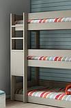 """Кровать трехъярусная """"Никея"""" из массива натурального дерева, фото 2"""