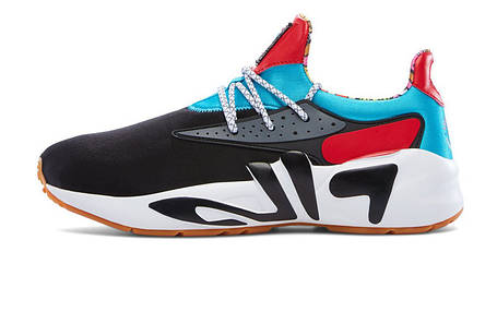 58a66f71ef2 Мужские кроссовки FILA x HungryEyes Mindbreaker 2.0 Black/Blue/Red, фото 2