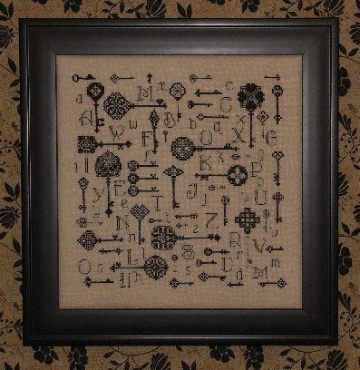 Схема для вышивки Key to the Kingdom
