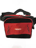 Мужская спортивная сумка на пояс текстиль арт. 00915