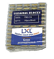 Блок распределительный 3А (РЕ,4 мм)