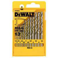 Набор сверл по металлу HSS-G DeWALT DT5922