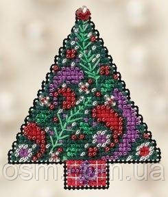Набор для вышивки Mill Hill Paisley Tree//Елка Пейсли