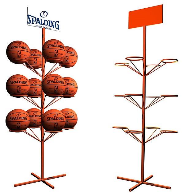 Фото торговых стояк для мячей