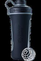 Спортивная бутылка-шейкер BlenderBottle Radian Glass Black (СКЛО) 820мл (ORIGINAL), фото 1