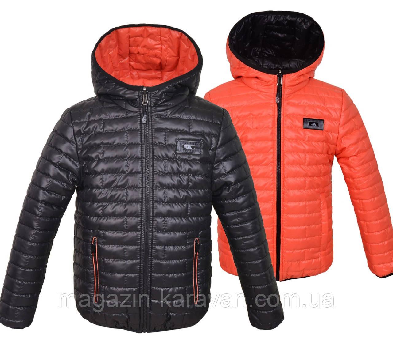 Двусторонняя детская куртка