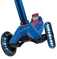 Передние светящиеся LED колеса 120 мм для самоката Micro Maxi / Maxi Deluxe