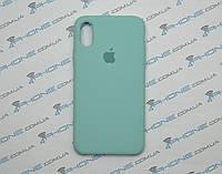 Силиконовый чехол для iPhone X, - «зеленая лагуна» - copy original