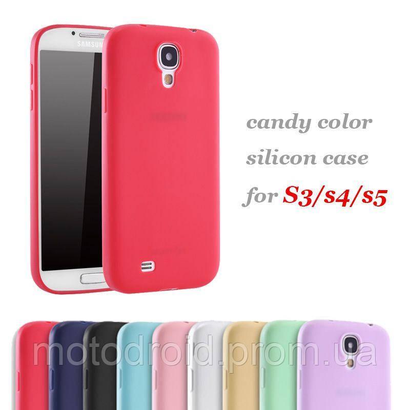 Чохол Samsung Galaxy S4 кольорові