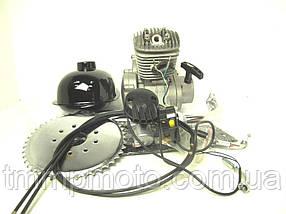Мотор на велосипед без стартера 80 сс 47мм комплект, фото 2