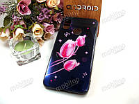 Чехол Glass Case Xiaomi Mi 8 (tulip)