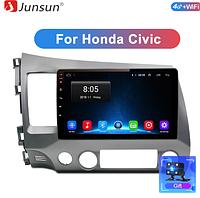 Junsun 4G Android магнитола  Honda Civic 2006- 2011 Acura CSX
