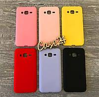TPU чехол накладка Candy для Samsung Galaxy J3 (6 цветов)
