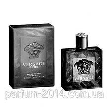 Чоловіча туалетна вода Versace Eros Black (репліка)