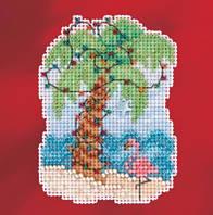 Набор для вышивки Mill Hill Christmas Palm