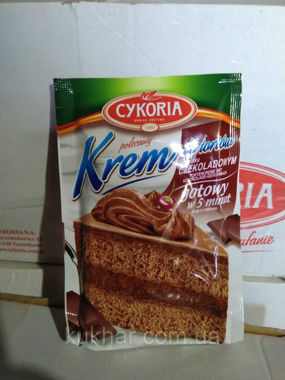 Крем для торту зі смаком Шоколаду (Czekoladowym) 100г
