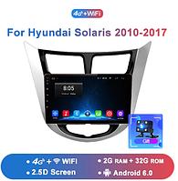 Junsun 4G Android магнитола для для solaris hyundai Accent Verna creta  2010-2017