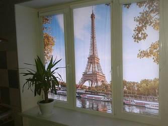 Рулонні штори з фотодруком
