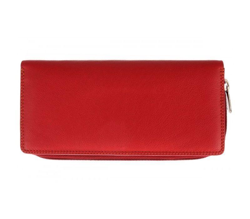Женский кошелек Visconti RB-55 Red Multi кожаный красный