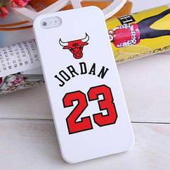 Чехол накладка Jordan 23 для iPhone 5/5s/SE 4''
