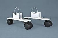 Подставки с роликами к электрорадиатору ОптиМакс, фото 1