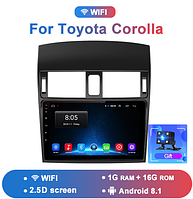 Junsun 4G Android магнитола для Toyota corolla wifi