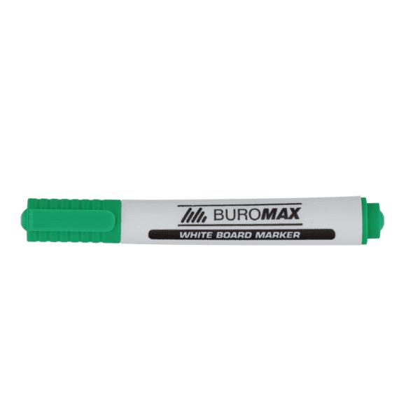 Маркер для магнитных досок BUROMAX, зеленый