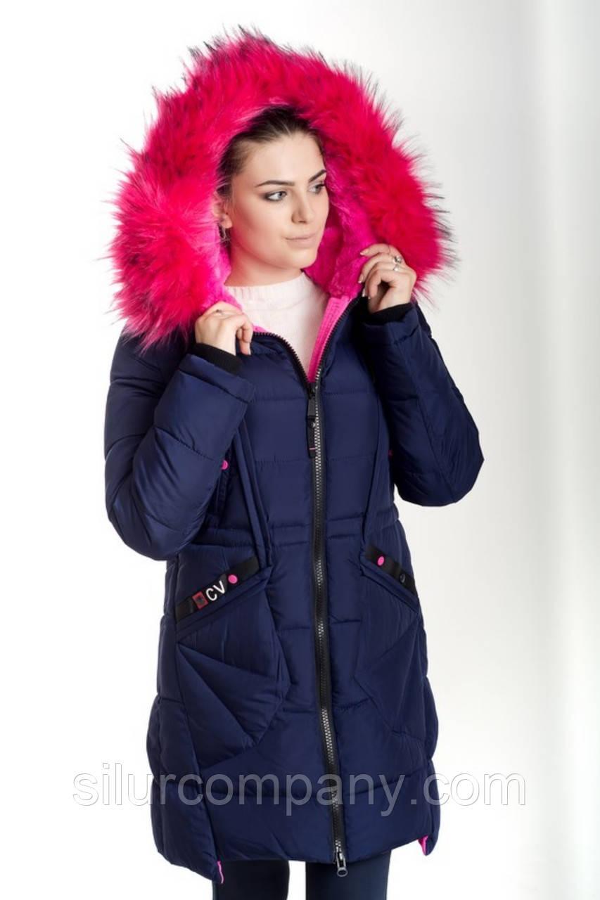 9db42ce488b Оригинальная молодежная зимняя куртка женская