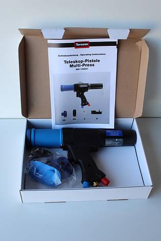 Пневматический пистолет для нанесения распыляемых герметиков 310 мл Teroson Multi-Press (142241), фото 2